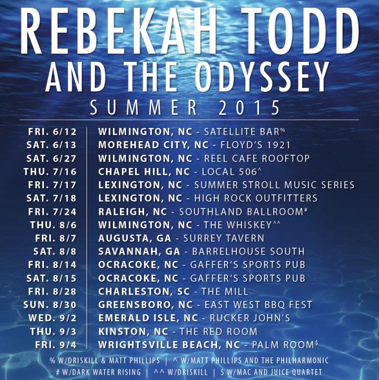 Rebekah Todd Tour