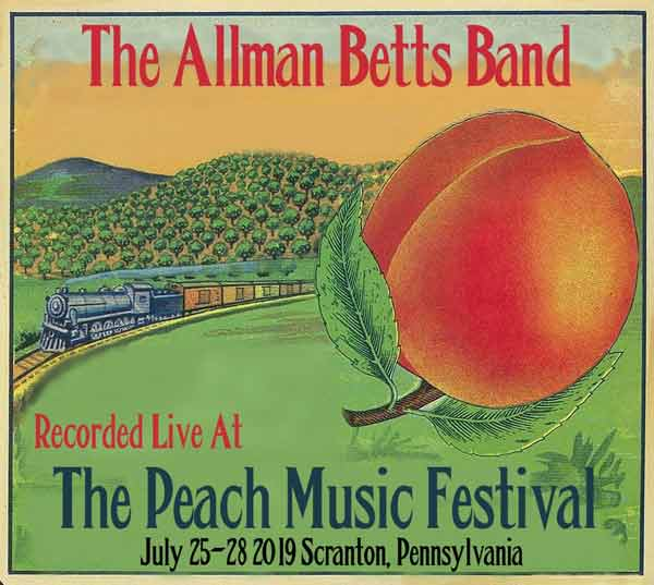 Allman Betts Band Live At 2019 Peach Music Festival 2cd