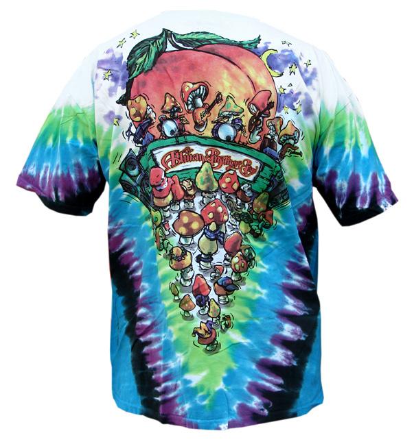 Allman Brothers Band Tie Dye T Shirt Leeway S Home Grown