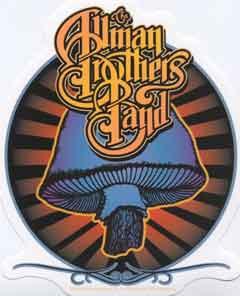 Allman Brothers Band Shroom Logo Sticker Leeway S Home