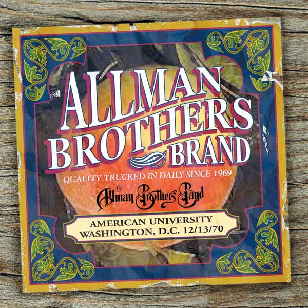 Allman Brothers Band American University 12 13 70 2lp