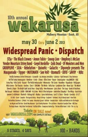 10th Annual Wakarusa