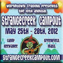 The 10th Annual StrangeCreek Campout at Camp KeeWanee in Greenfield, MA