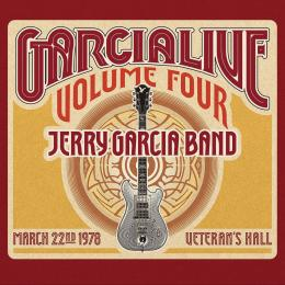 Jerry Garcia Band - GarciaLive 4 March 22nd 1978 Veteran's (2 CDs)