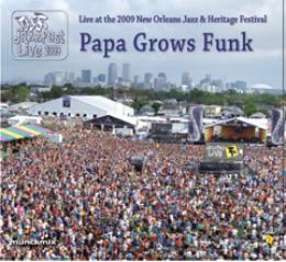Papa Grows Funk Live At Jazzfest 2009 Cd Leeway S Home