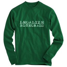 Legalize Bluegrass T-Shirt - Long Sleeve