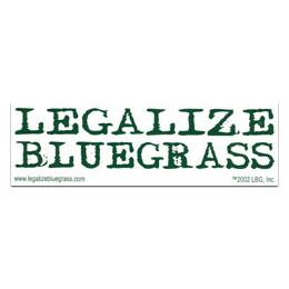 Legalize Bluegrass Sticker