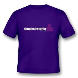 Aaron Katz - Simplest Warrior T-Shirt