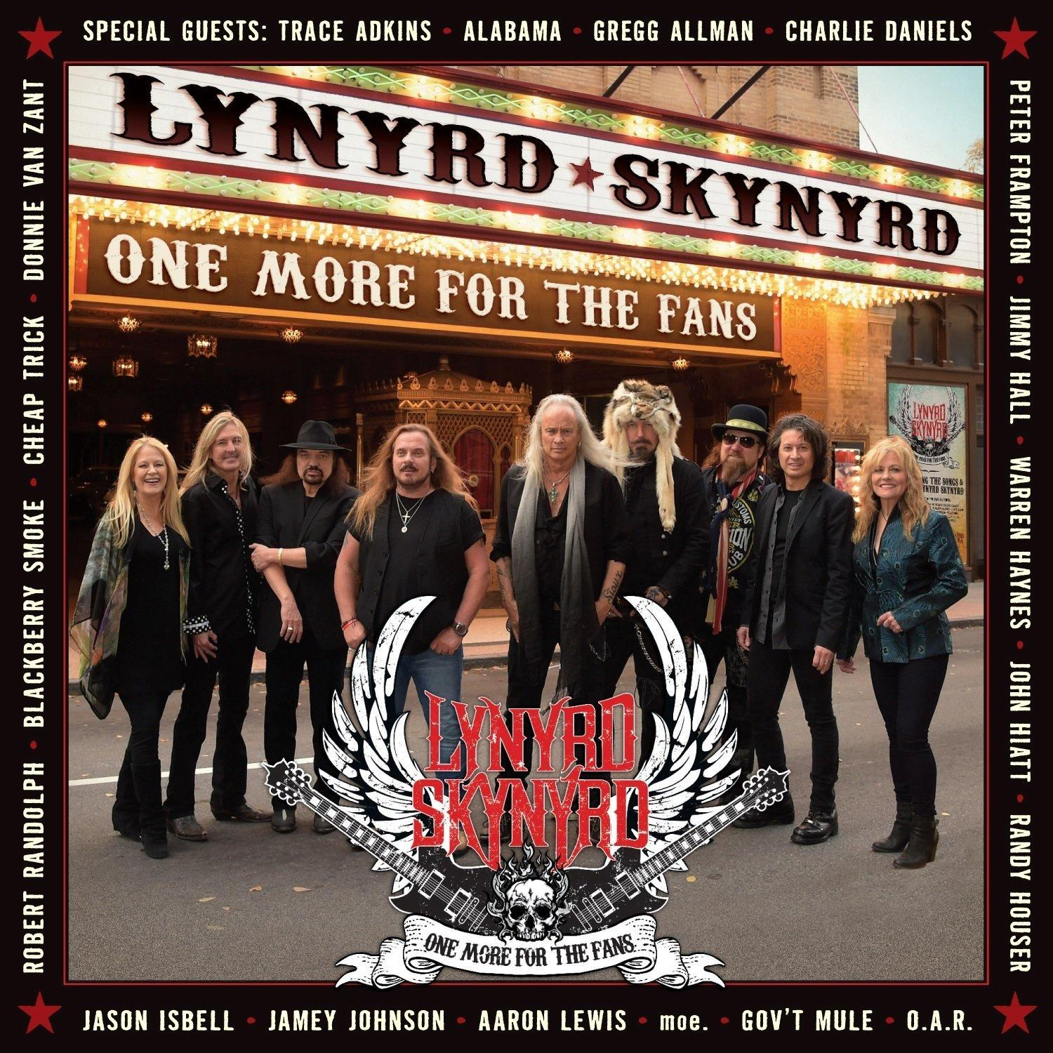1 More Than 2 1 More Than 2: Lynyrd Skynyrd - One More For The Fans (2CD/DVD)