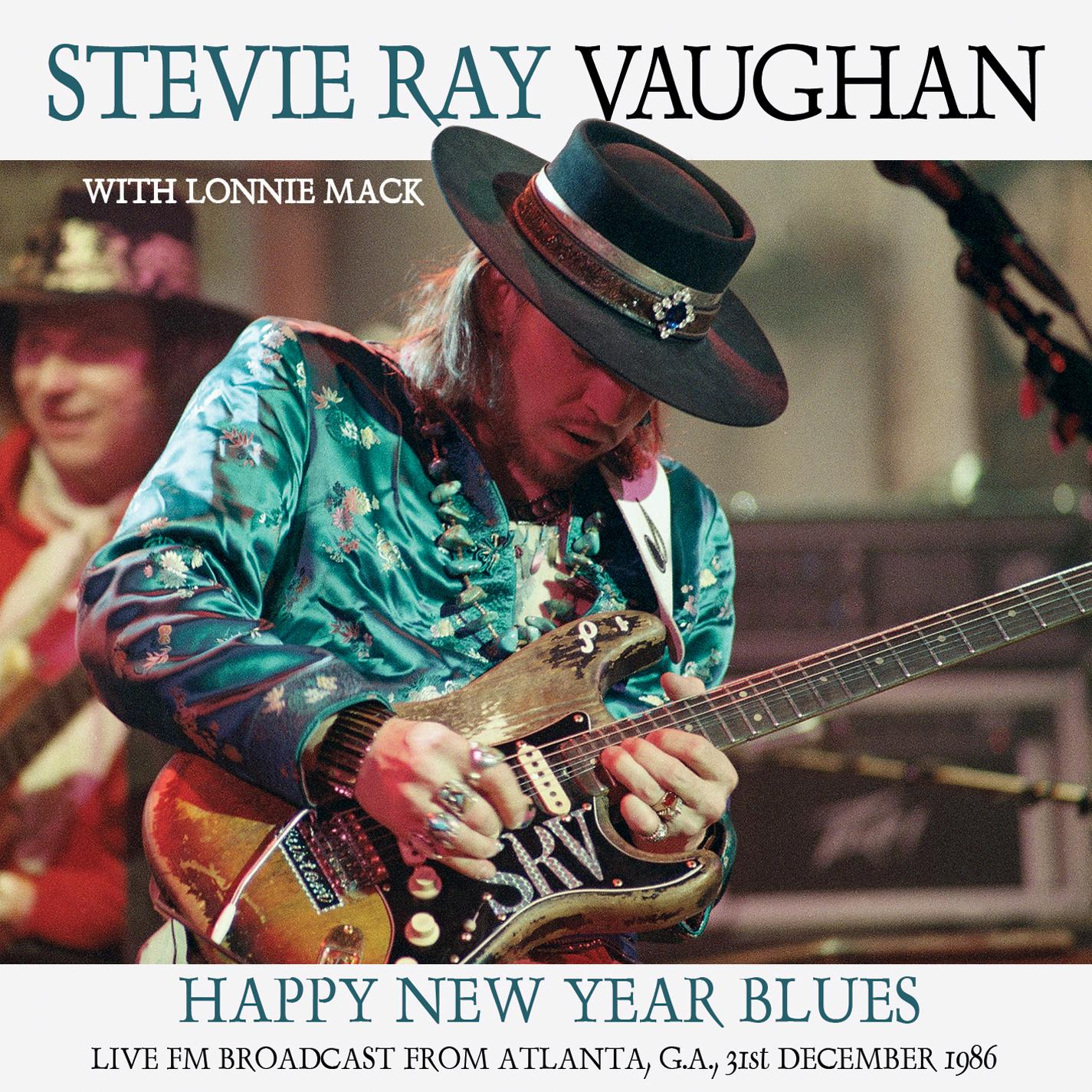 stevie ray vaughan happy new year blues w lonnie mack fox theatre radio broadcast 1986 cd. Black Bedroom Furniture Sets. Home Design Ideas