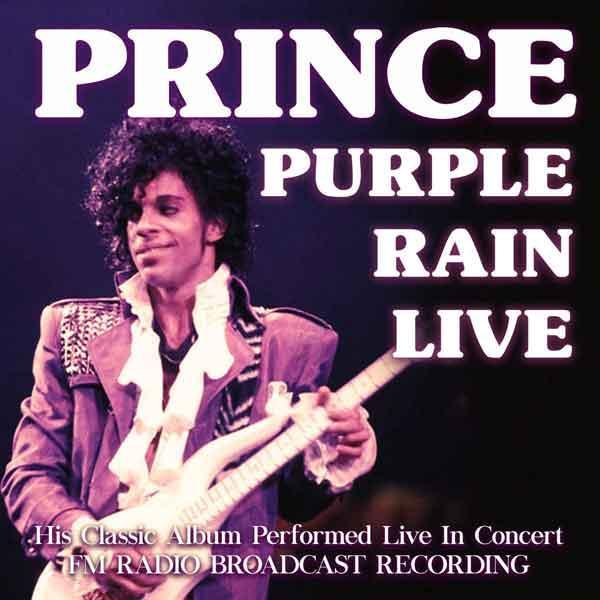 Prince - Purple Rain Live CD