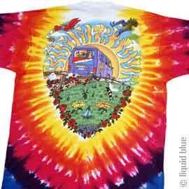 Grateful Dead - Summer Tour Bus T-Shirt | Leeway's Home Grown Music