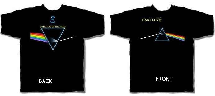676814df Pink Floyd - Dark Side of the Moon T-Shirt   Leeway's Home Grown ...