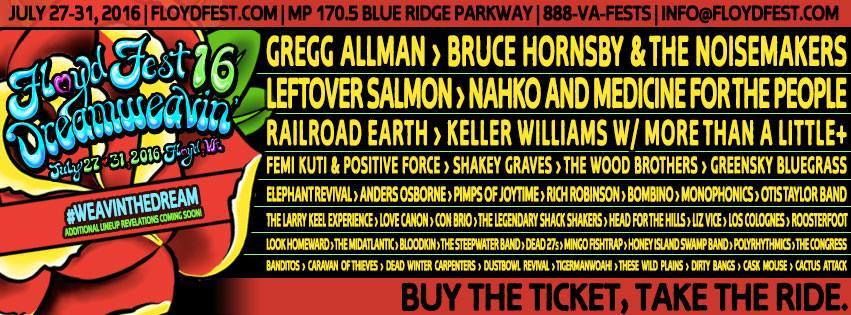 Floydfest Leeway S Home Grown Music Network